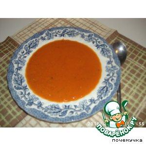 Рецепт: Томатный крем-суп