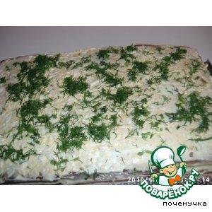 """Закусочный тортик """"Вдохновение"""" – кулинарный рецепт"""