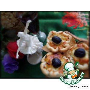 Тарталетки с луком – кулинарный рецепт