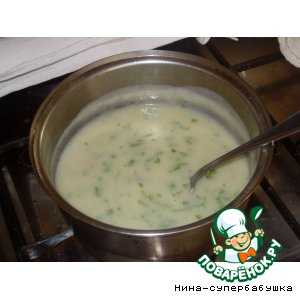 Рецепт: Белый соус