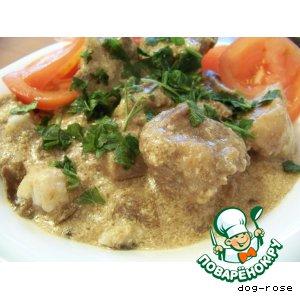 Рецепт: Мясо Цюрих