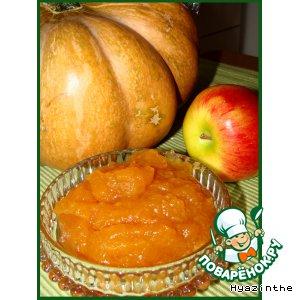 Рецепт: Яблочный джем с корицей