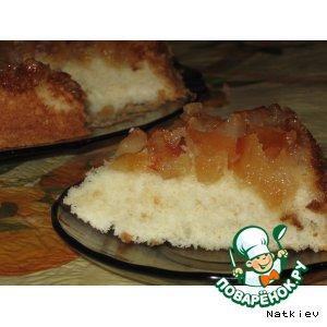 Рецепт: Пирог Яблочный перевертыш