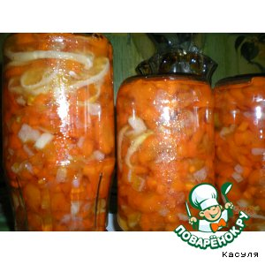 """Рецепт: Варенье """"Солнечная морковка"""""""
