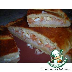 Рецепт: Рыбный пирог Клондайк