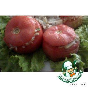 Рецепт: Помидоры, фаршированные грибами