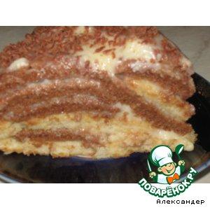 Рецепт: Торт Опавшие листья