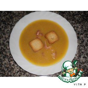 Рецепт: Суп-пюре из нута