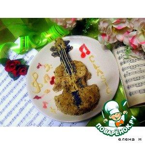 Рецепт: Пирожное Королева оркестра