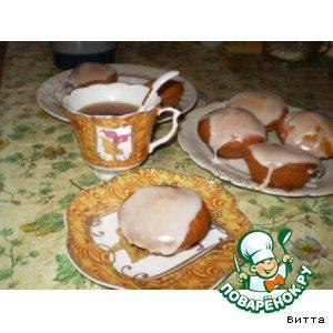 Рецепт Имбирные кексики