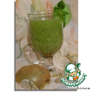 """Рецепт: Чай """"Зеленая витаминка"""""""