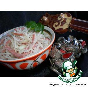 Рецепт: Салат Напевы Азии