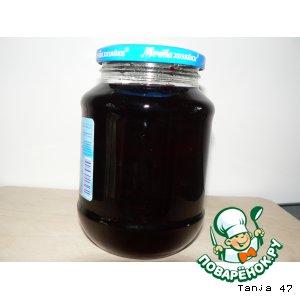 Рецепт: Сироп из черноплодной рябины