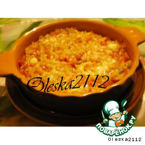 """Рецепт: Запеканка рисовая """"Сырная креветка"""""""