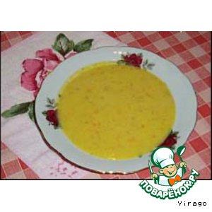 Рецепт: Суп-пюре тыквенно-картофельный