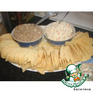 Рецепт: Салат и чипсы