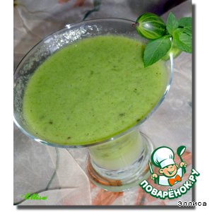 Рецепт: Коктейль Витаминная зелень