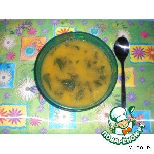 Рецепт: Суп-пюре со шпинатом, как в Макдональдсе
