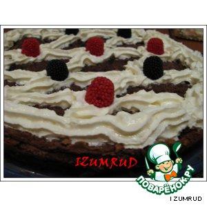Рецепт: Шоколадный тарт