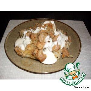 Рецепт: Картофельная бабка по-русски