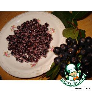 Рецепт: Цукаты из аронии (черноплодной рябины)