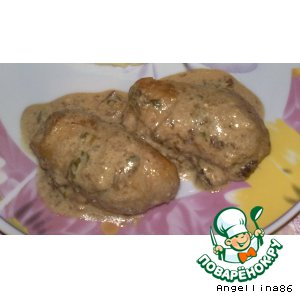 """Рецепт: """"Пальчики"""" из свинины с начинкой"""