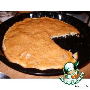 Рецепт: Творожно-яблочное суфле