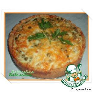 Рецепт: Пирог с овощами