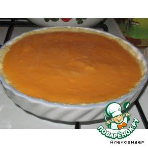 Рецепт: Заварной крем на апельсиновом соке