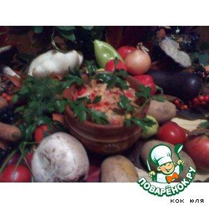 Рецепт: Овощной горшок, полон сюрпризов