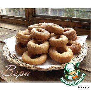 Рецепт: Пончики с корицей