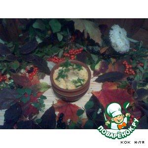 Рецепт: Фаршированные помидорки в горшочке с овощами