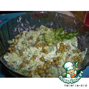 Рецепт: Нежная зелень