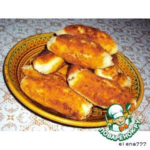 Рецепт: Сырно-картофельные рулетики