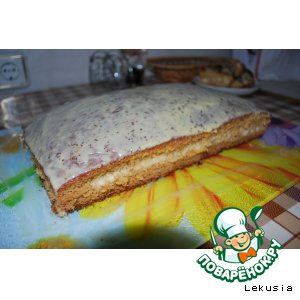 "Рецепт: Торт-пирог  ""Ольга"""