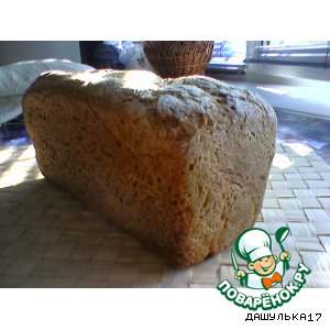 Рецепт: Ржаной хлеб на закваске