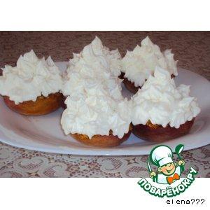 """Рецепт: Десерт """"Белые кораблики"""""""
