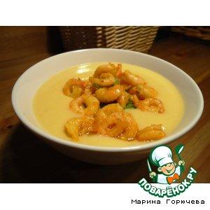 Рецепт: Суп из тыквы
