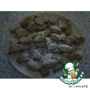 Рецепт Геркулесовое печенье