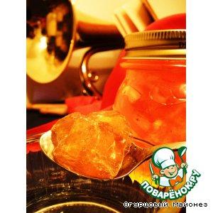 Рецепт: Апельсиновое варенье с бренди «Пионерская Зорька»