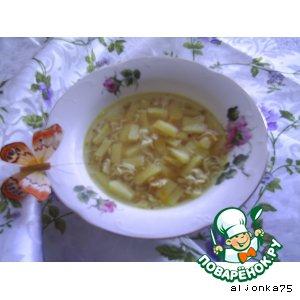 Рецепт: Суп из говяжьей тушенки