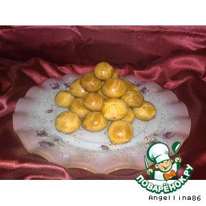 Рецепт: Медовое печенье с начинкой