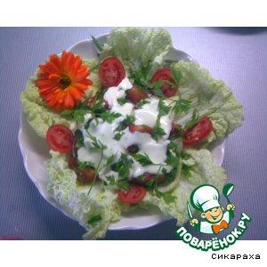 """Рецепт: Салат """"Свежесть"""""""
