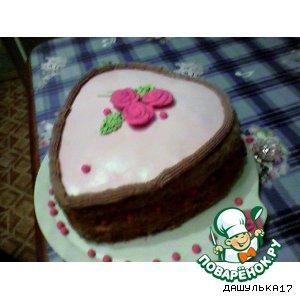 """Рецепт: Торт """"Принцесса на горошине"""""""
