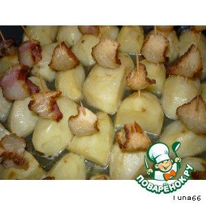 Рецепт: Кораблики из картофеля