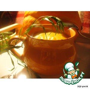 Рецепт: Пряный суп-пюре из тыквы