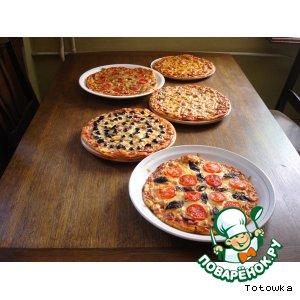 Рецепт: Основа пиццы Пиццерия