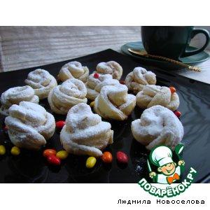 Рецепт: Печенье Розочки