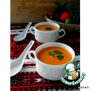 Рецепт: Суп из огурцов и помидоров