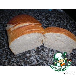 Рецепт: Ну очень вкусный хлеб